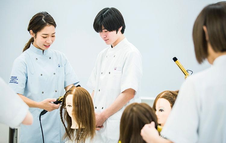 美容師科イメージ