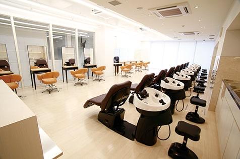 美容実習室